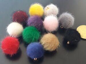 Sonderabschnitt 5 A 75 Pompones Pelo Bälle Bastelarbeit Ohrringe Armbänder Halsketten Bommel