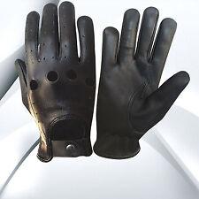 Men/'s Ultra Soft Deerskin Unlined Lightweight Leather Driving Glove SH868