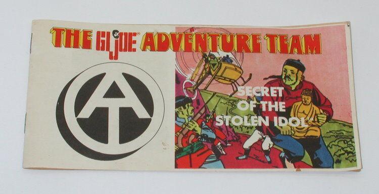 GI Joe 1971 Secret of the Stolen Idol Comic Book GI2171