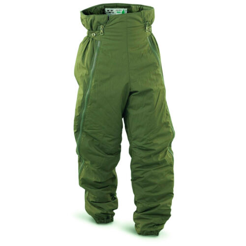Genuine Swedish army pants insulated M90 green Thermal trousers cold weather