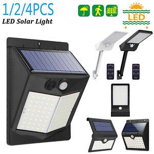 16-100LED-Solar-Power-Light-PIR-Motion-Sensor-Security-Outdoor-Garden-Wall-Lamp
