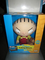 Rare Family Guy Deluxe Talking Stewie/teddy Toy Doll Figure By Mezco