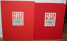 New SIGNED Numbered Peter Blake Alphabets Slipcase Pop Artist Sgt Pepper Beatles
