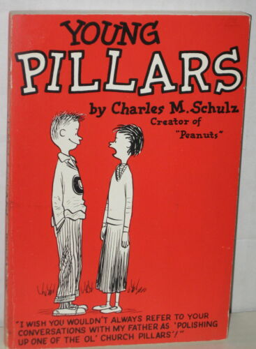 "1958 Peanuts ""Young Pillars"" by Charles Schulz"