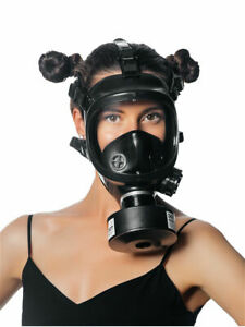 противогаз  лицевая маска с фильтром