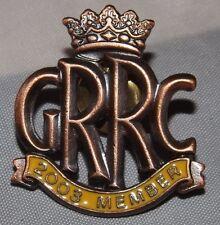 Goodwood carreras de carretera 2003 miembros del club grrc Esmalte Pin Insignia FOS Revival 250 Gto