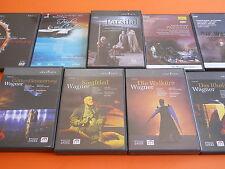 DVD WAGNER DER RING DES NIBELUNGEN PARSIFAL TRISTAN GOTTERDAMMERUNG 21 DVD