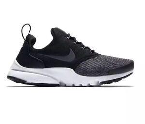 e83c2e2db1 Boys' GS Nike Presto Fly SE Casual Black/Anthracite/Cool Grey/White ...