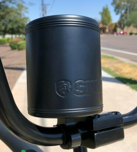 Beach Cruiser SIKK Cruiser Bicycle Stainless Insulated Can Holder Flat Black