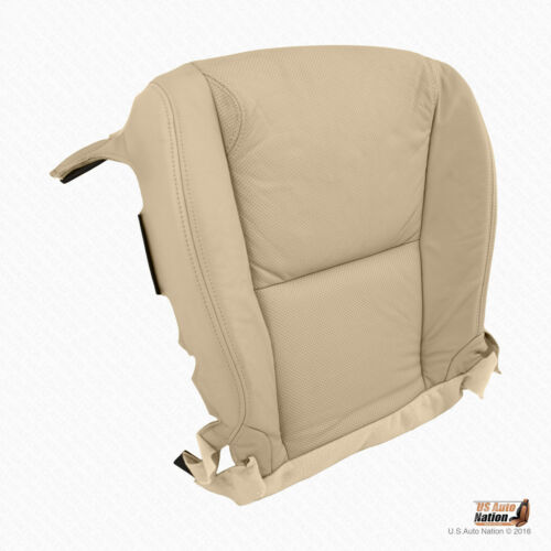 Front DRIVER PERFORATED LEATHER Seat Cover For TAN 2010 Lexus GS350 Base Sedan