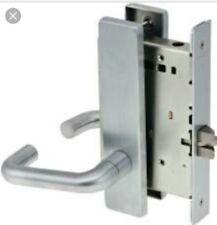 Schlage L9010 03A 626 Series L Grade 1 Mortise Lock 03A Design Passage Function Satin Chrome Finish Keyless
