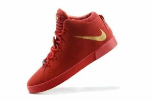 Nike Lebron 12 XII NSW Lifestyle QS University Red October James ... a29c4773a