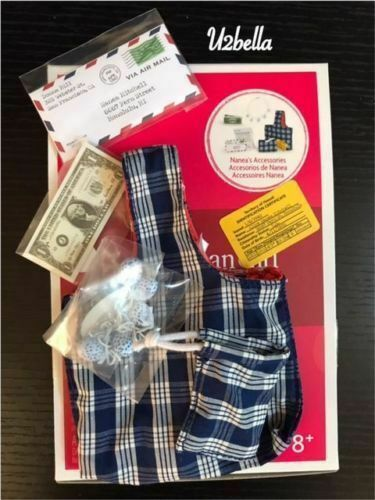 American Girl Nanea Meet Accessories Purse Necklace Complete set NEW in Box