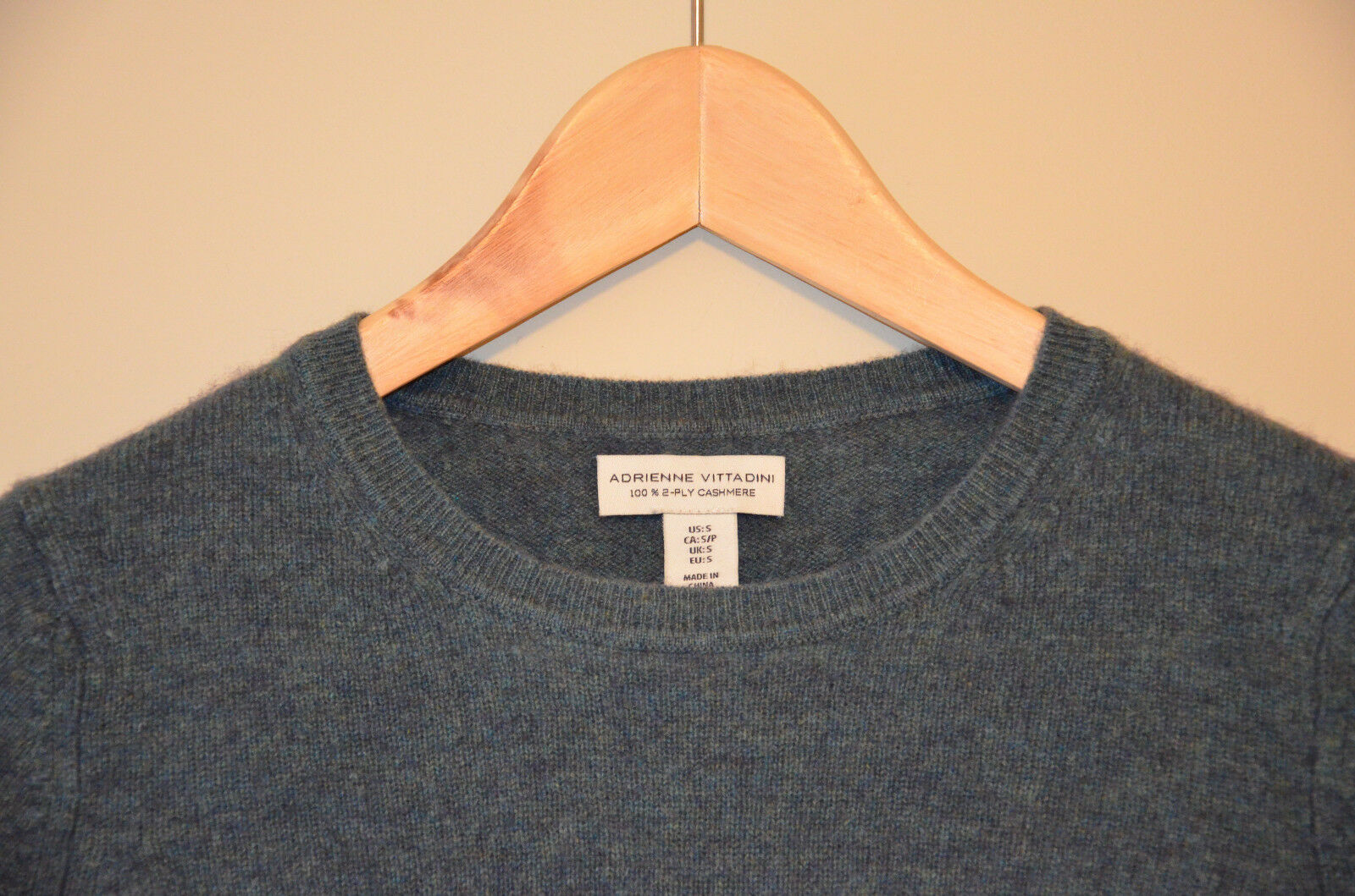 GORGEOUS Adrienne Vittadini 100% Cashmere Heathered SWEATER Women's S S S Small 0b2d17