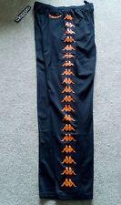 KAPPA 80s  90s sport vtg casuals  vintage  pants black XXL Valencia