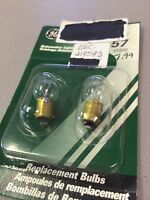 General Electric Omc 319593 Outboard Replacement Bulbs, Pk/2, 57/bp2