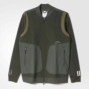 Details about Adidas Men White Mountaineering Varsity Jacket olive night cargo
