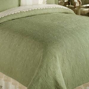 Image Is Loading SAGE GREEN Twin Full Queen Or King QUILT