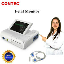 Contec Fetal Mother Monitor 24 Hours Fetal Movement Fetal Doppler Printer Ce