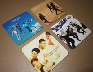 Take That Album Cover COASTER Set