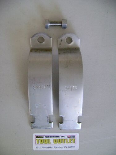 """#4329S1 P1119 3/"""" Stainless Steel Rigid Pipe Clamps for Unistrut Channel 10//PK"""