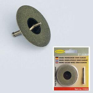 Diamant-Trennscheibe-50mm-Mini-Spanndorn-fuer-Glas-Metall-Holz-Kunststoff