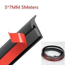 5m T Shape Rubber Sealing Strip Parts For Car Edge Trim Bumper Lip Side Skirt Fits 1999 Jeep Wrangler