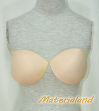 A Pair Heart Shape Skin Color Replacement Bra Pads Insert for Dress Making BP03