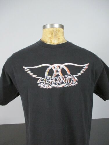 Aerosmith Just Push Play Hajime Sorayama 2001 T-Sh