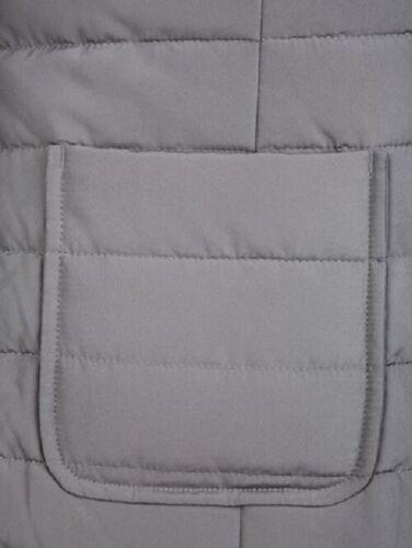 52 54 58 Steppjacke Jacke Damenjacke Übergangsjacke Jeans grau blue denim Gr
