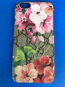 buy online 16209 9c6e6 Details about Gucci Floral Logo Iphone 6 Phone Case Pink AUTHENTIC