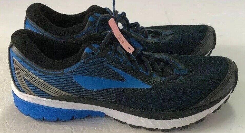 Brooks Men's Running scarpe Ghost 10 - US Dimensione 11 - nero   blu