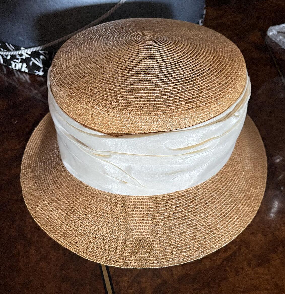 PATRICIA UNDERWOOD NEW YORK LADIES' STRAW HAT OFF… - image 1