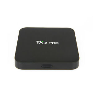 NEW 4K Smart Quad Core S905X Android 6.0 TV Box Internet Media Player TX3 PRO