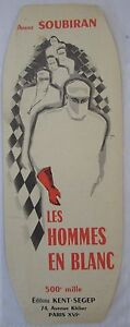 Antique-Brand-Pages-Bookmark-Advertising-Ed-Segep-Soubiran-Les-Hommes-in-White-2