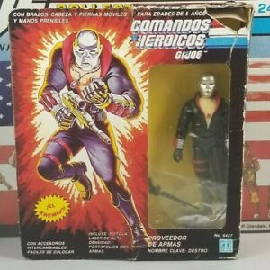Original-1983-GI-JOE-DESTRO-Mexico-Comandos-Heroicos-MOC-UNBROKEN-COMPLETE-ARAH