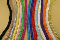 24 Yards Braided Gimp Fabric Trim Crafting & Sewing Projects 3/8 Wholesale
