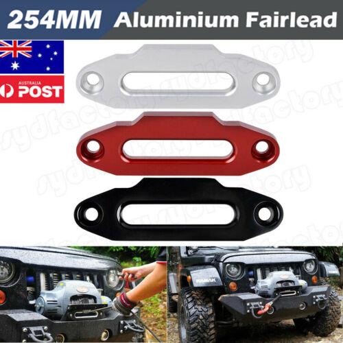 254mm Anodised Alloy Hawse Fairlead Winch Synthetic Dyneema Rope 4WD AU Stock