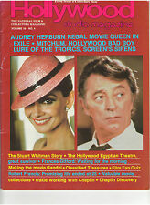 AUDREY HEPBURN ROBERT MITCHUM WHITMAN GANDHI CHARLIE CHAPLIN FRANCIS GIFFORD '83
