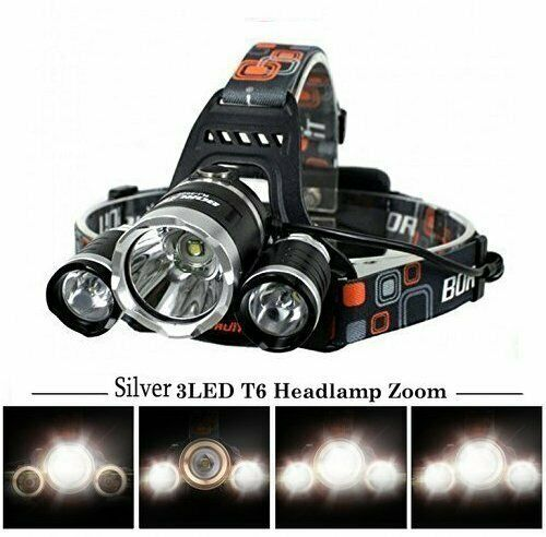 900000LM Zoom T6 XPE LED Rechargeable Headlamp Headlight 18650 Head Torch XI