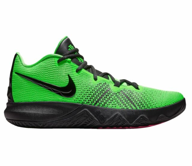 green and black nike basketball shoes
