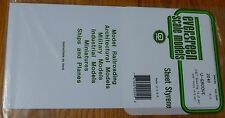"Evergreen Styrene #2040 / 6 x 12"" Styrene Siding Sheet, V-Groove .020"" Thick -"