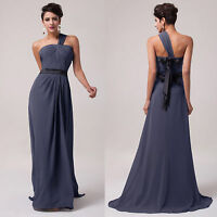 Formal Long Chiffon Ball Gowns Pageant Party Prom Dress Bridesmaid Evening Dress