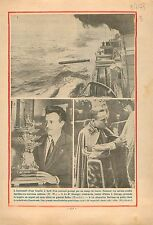Marine Nationale Torpedo Torpille Cuirassé/Chancellor Engelbert Dollfus 1933