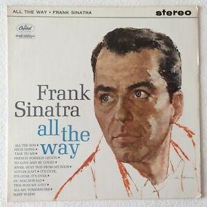 FRANK-SINATRA-ALL-THE-WAY-1961-UK-12-TRACK-STEREO-VINYL-LP-RECORD-Ref-1