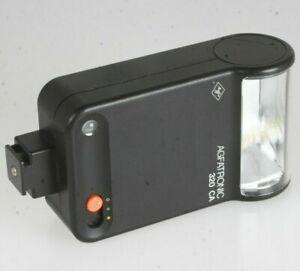 Agfa Agfatronic 320ca Flash Avec Contact Au Milieu-afficher Le Titre D'origine Haute Qualité