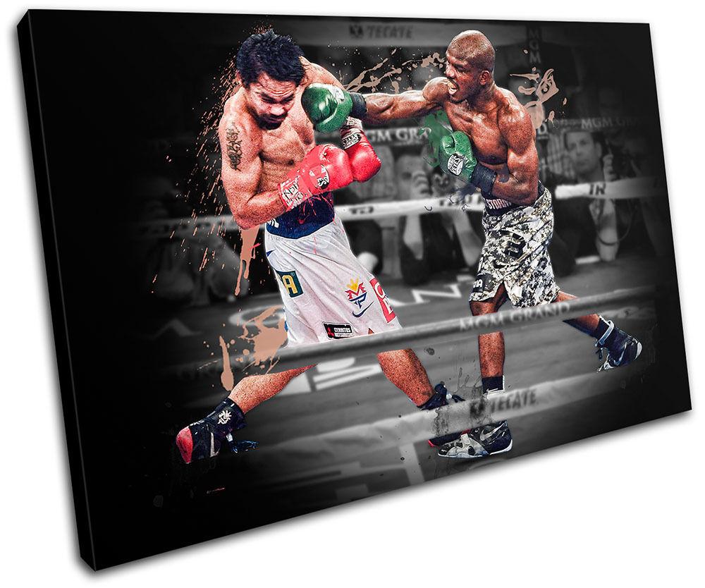 Bradley Pacquiao Boxing  Sports SINGLE impresion LONA pared arte Foto impresion SINGLE 51d7d0