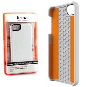 Tech21 D30 Impact Hard Back Snap Case Cover iPhone 5S White T211811 New - Smethwick, United Kingdom - Tech21 D30 Impact Hard Back Snap Case Cover iPhone 5S White T211811 New - Smethwick, United Kingdom