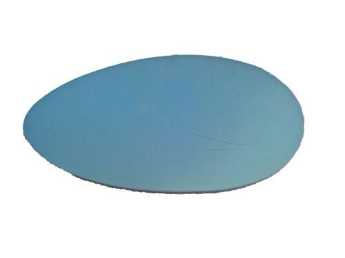 Vetro specchietto piastra ALFA ROMEO 156 sinistro blu termico