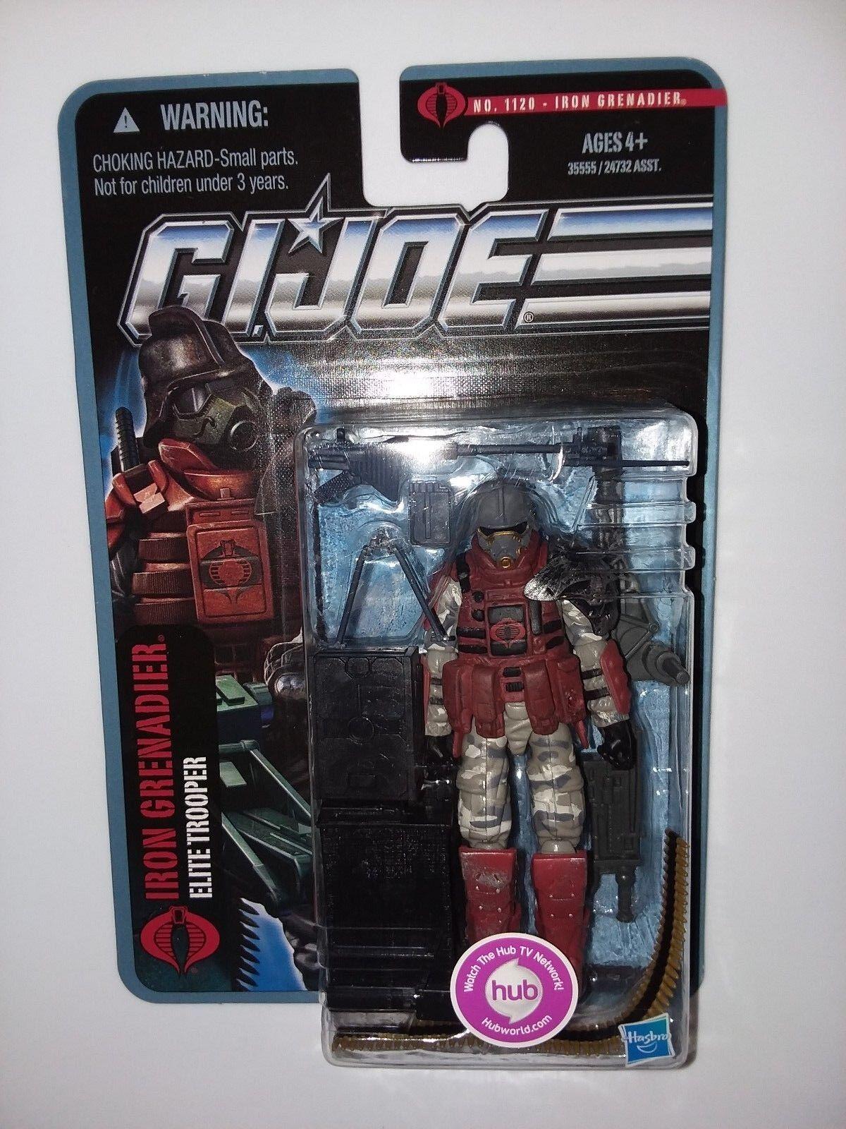 GI Joe POC Pursuit of Cobra Heavy Iron Grenadier sealed USA MOC New 2010